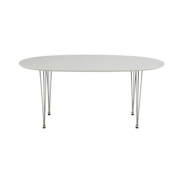 Carina fehér étkezőasztal - Actona