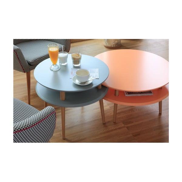 UFO sárga dohányzóasztal, ⌀ 57 cm - Ragaba