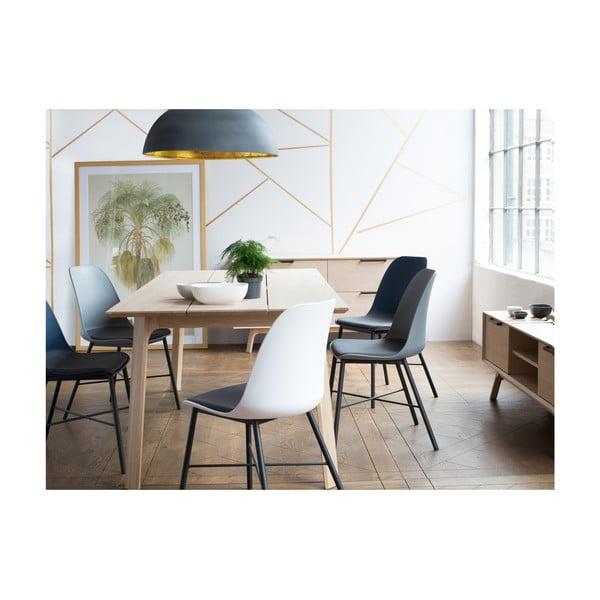 Vivara Lilly fehér tölgyfa étkezőasztal - Unique Furniture