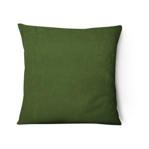 Series olivazöld bársony párnahuzat, 43 x 43 cm