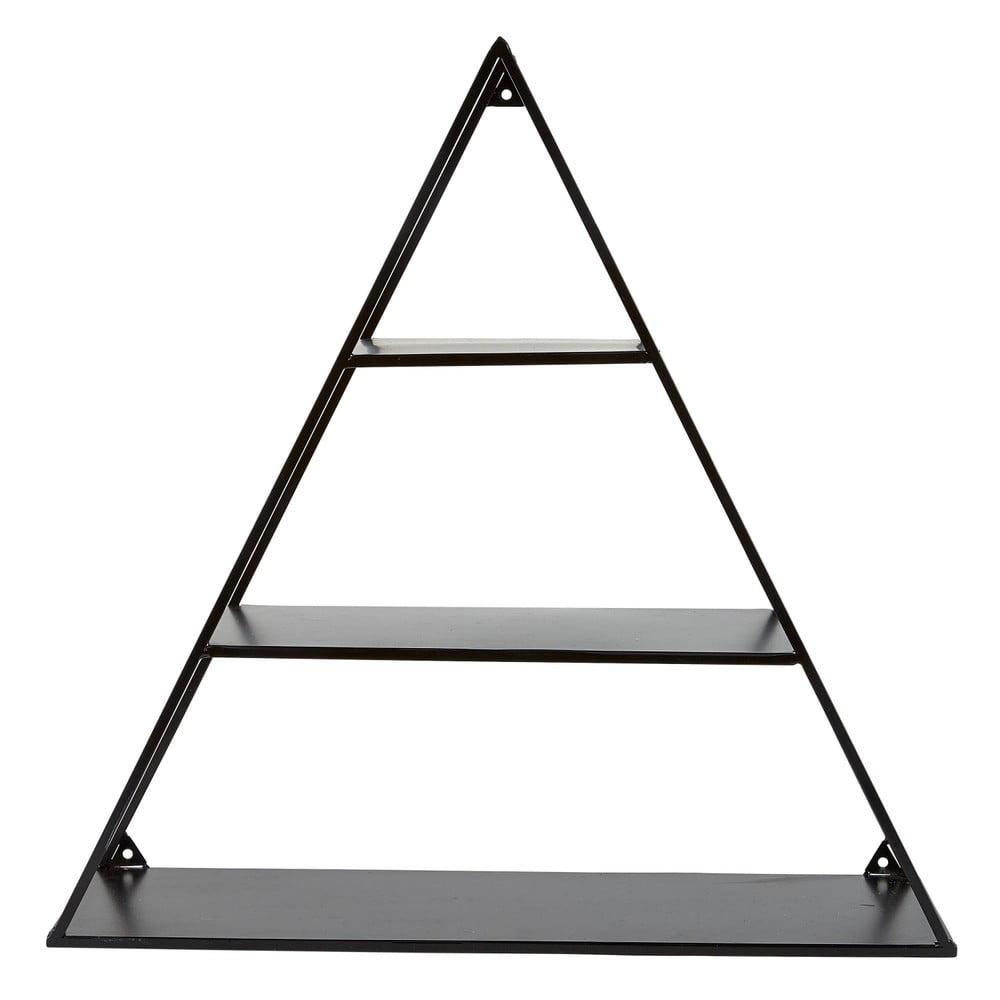 Fekete háromszög alakú polc - Villa Collection  dfa9592abe