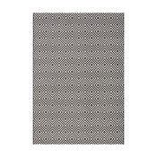Karo fekete kültéri szőnyeg, 140 x 200 cm - Bougari