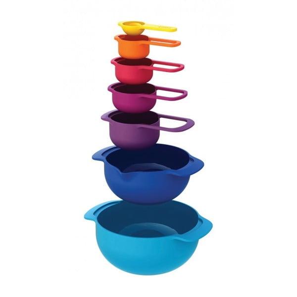 Kék színű 7 részes univerzális edény készlet - Joseph Joseph