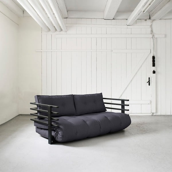 Funk Black/Gray kihúzható kanapé - Karup