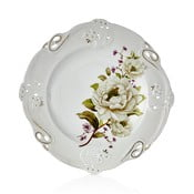 Franz Richard 6 darabos porcelántál szett, ⌀ 27 cm