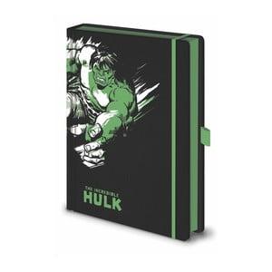 Marvel Hulk jegyzetfüzet, A5, 120 oldal - Pyramid International
