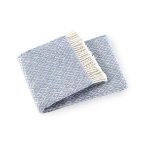 Agave pamut-akril kék pléd 91a8335d87