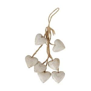 White Heart lógó dekoráció - Antic Line