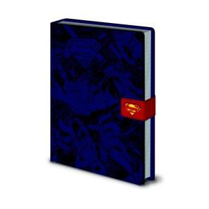 DC Comics: Superman jegyzetfüzet, A5, 120 oldal - Pyramid International
