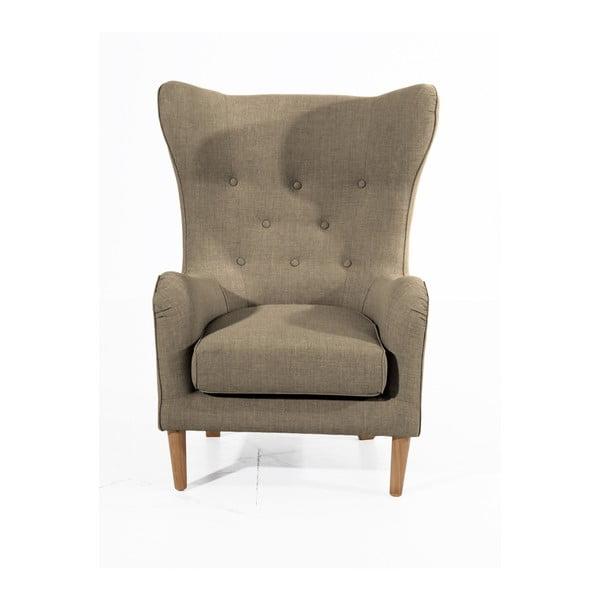 Miriam Linen barna füles fotel - Max Winzer
