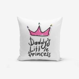 Pink Crown pamut keverék párnahuzat, 45 x 45 cm - Minimalist Cushion Covers