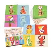 Colourful Creatures 20 db-os papírszalvéta szett - Rex London