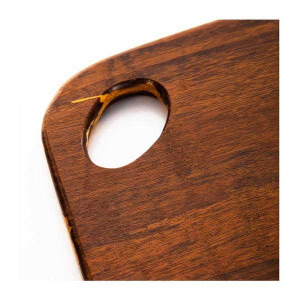 Yata vágódeszka bambuszból, 25 x 19 cm - Bambum