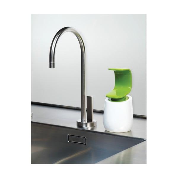 C-Pump zöld-fehér szappanadagoló, 237ml - Joseph Joseph