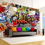 Colourful Graffiti nagyméretű tapéta 350 x 245 cm - Bimago