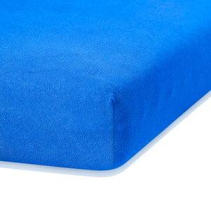 Ruby kék gumis lepedő, 200 x 160-180 cm - AmeliaHome