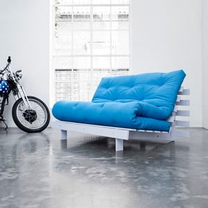 Roots White/Horizon Blue állítható kanapé - Karup