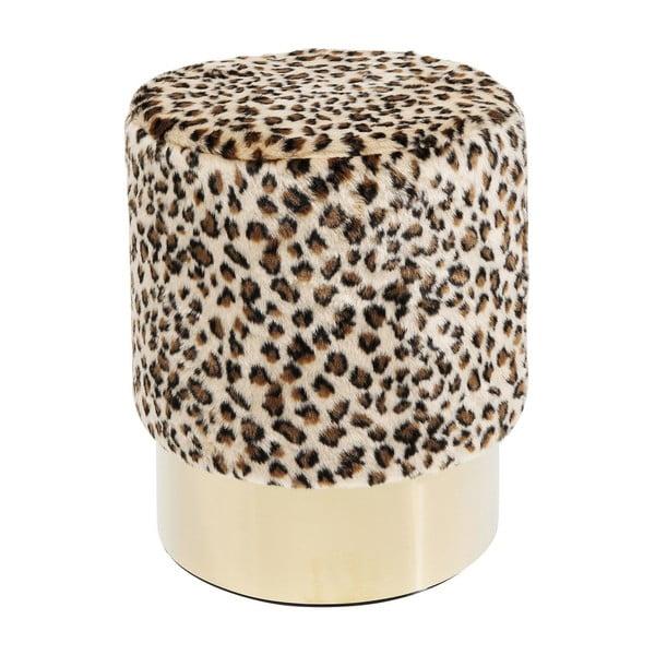 Cherry Leo ülőke leopárdmintával, ∅ 35 cm - Kare Design