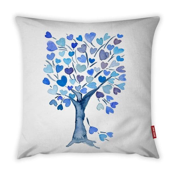 Love Tree Azul párnahuzat, 43 x 43 cm - Vitaus