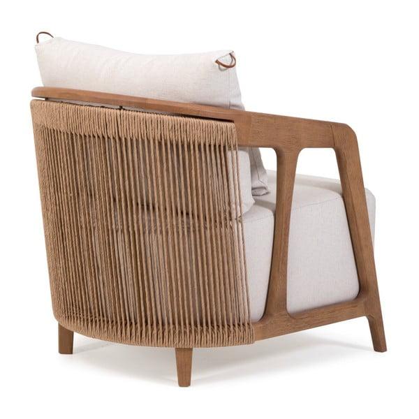 Arpa fotel barna kerettel, tauari fából - Marckeric