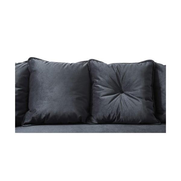 Hera Bis szürke kinyitható kanapé, bal oldali - Bobochic Paris