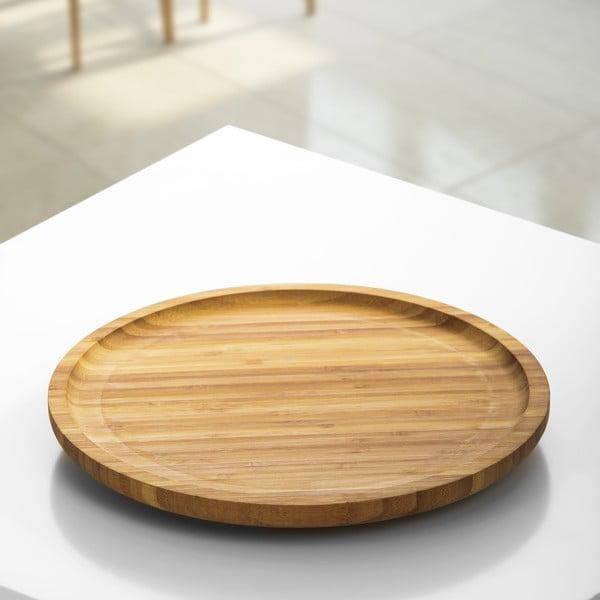 Lily bambusz forgó edényalátét, ⌀ 33 cm - Bambum