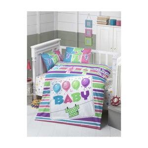 Baby pamut gyermek ágyneműhuzat, 100 x 150 cm
