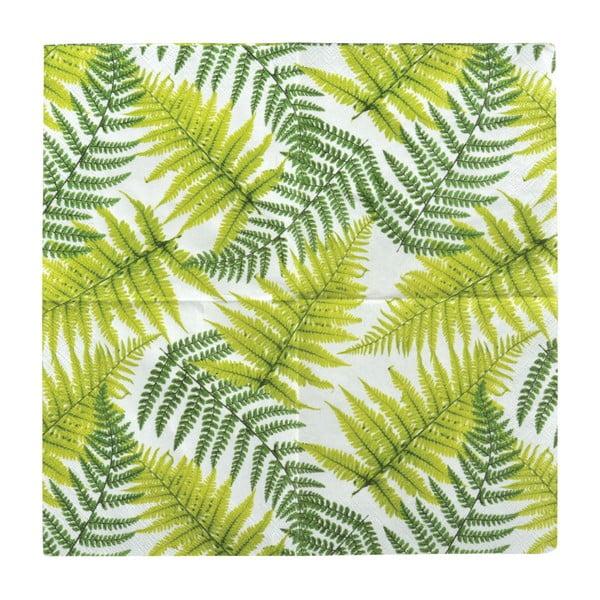 Leaf szalvéta, 20 db - Esschert Design