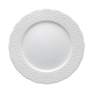 Gran Gala fehér porcelán tányér, ⌀ 25 cm - Brandani