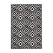 Art fekete-krémszínű szőnyeg 160 x 230 cm - Zala Living