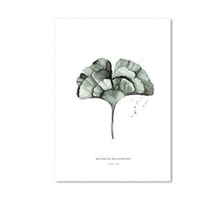 Ginko Leaf plakát, 29,7x42cm - Leo La Douce