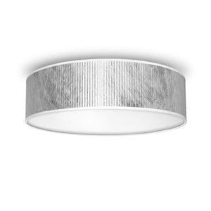 Tres ezüstszínű mennyezeti lámpa, Ø 40 cm - Bulb Attack