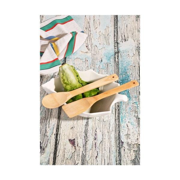 Kutahya India 2 részes bambusz evőeszköz szett