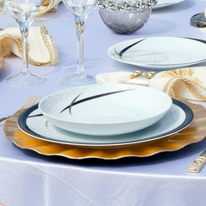 Kutahya Oceania 65 részes porcelán tányér szett
