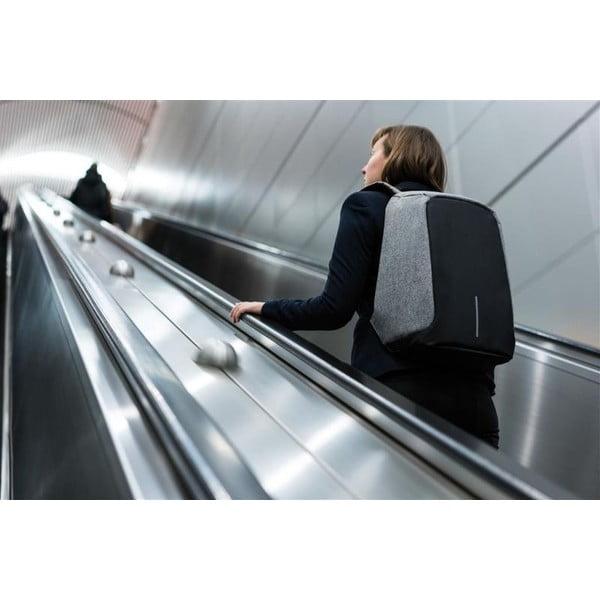 Bobby szürke biztonsági hátizsák - XD Design
