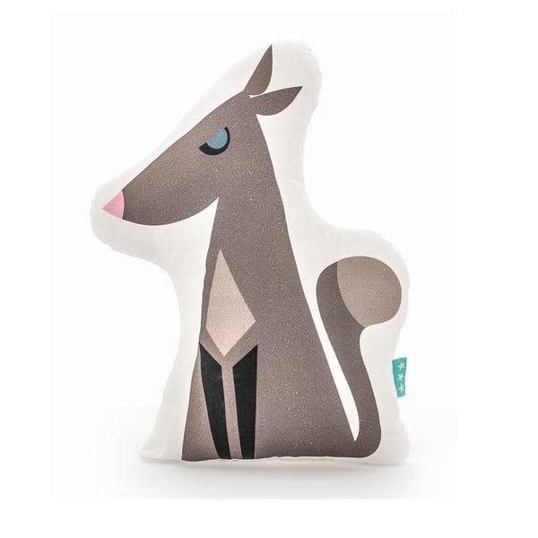 Wolfie pamut gyerekpárna, 40 x 30 cm - Mr. Fox