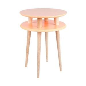 UFO narancssárga dohányzóasztal, ⌀ 45 cm - Ragaba