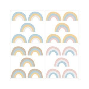 Rainbow Pastel 20 darabos falmatrica szett - Dekornik