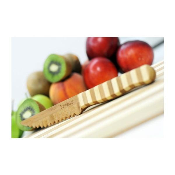 Gyümölcs- és zöldségvágó bambusz kés - Bambum