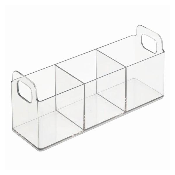 Vanity Catch átlátszó rendszerező, 23 x 7,5 x 10 cm - iDesign