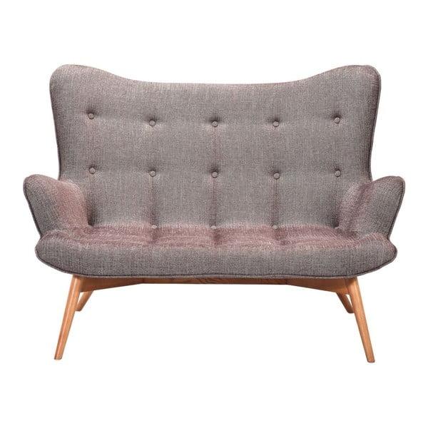 Angels mályvaszínű kétszemélyes kanapé - Kare Design