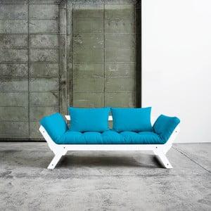 Bebop White/Horizon Blue állítható kanapé - Karup