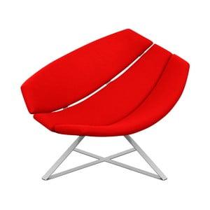 Radar piros relax fotel - Softline