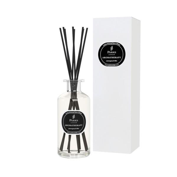 Citromfű és mentol illatú aromadiffúzor, illatintenzitás 12-14 hét - Parks Candles London
