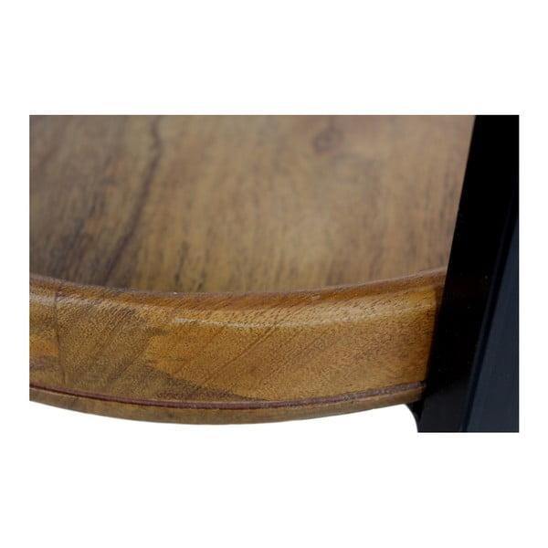 Ediash mangófa tárolóasztal, Ø 35 cm - HSM collection