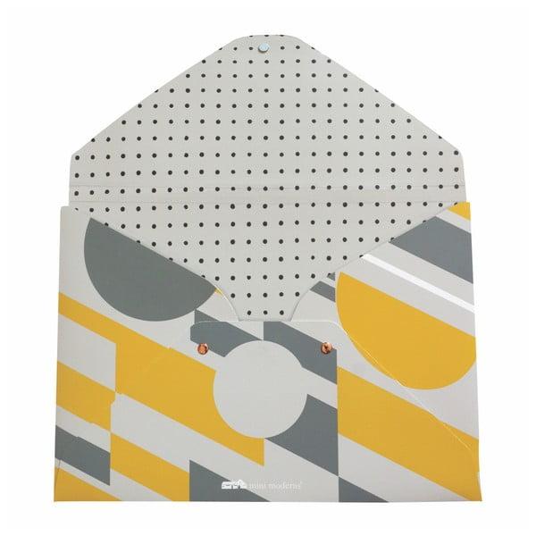 Geometrico 2 db-os irattartó mappa szett - Portico Designs