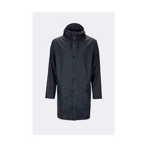 Tmavě modrá unisex bunda s vysokou voděodolností Rains Long Jacket, velikost S/M