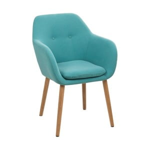 Modrá jídelní židle Actona Emilia