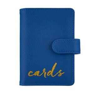 Kék pénztárca és irattartó utazáshoz - Busy B