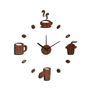 Coffee óra alakú falmatrica, ⌀ 60 cm - Mauro Ferretti